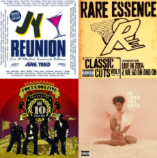 Album Art from some of the Funk Parade Playlist